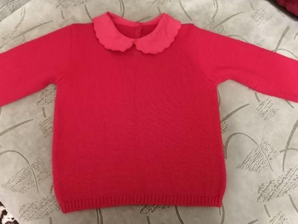 Кофточка- свитерок для девочки, р.104