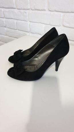Туфли замшевые размер 37
