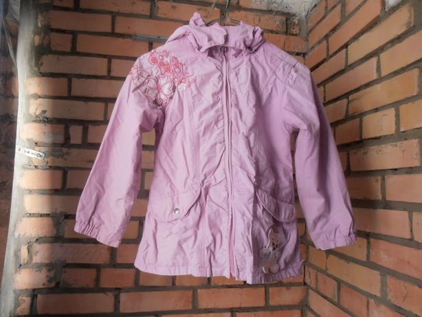 Курточка на девочку плащовка хлопок 6-7 лет Outburst
