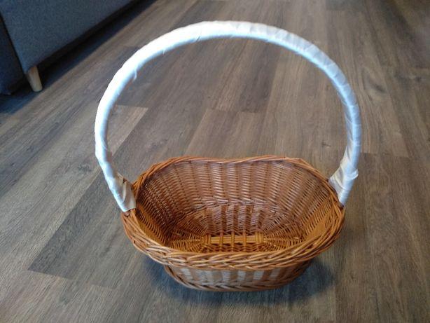 Koszyk wiklinowy