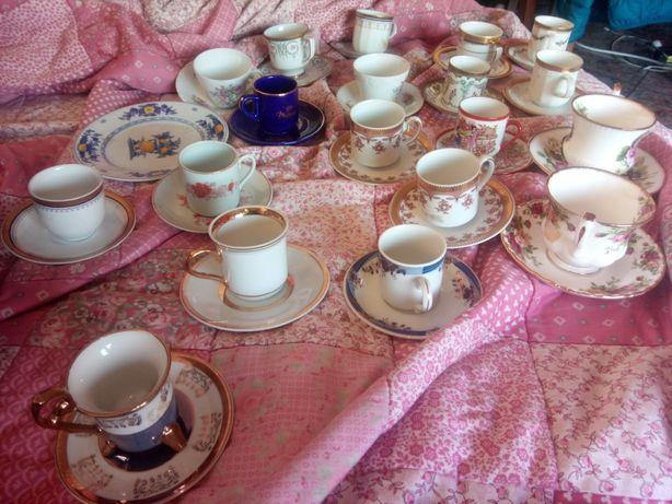 Chávenas diversas