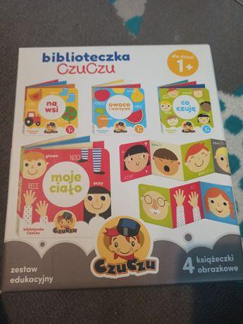 Biblioteczka czuczu - zestaw 4 książek
