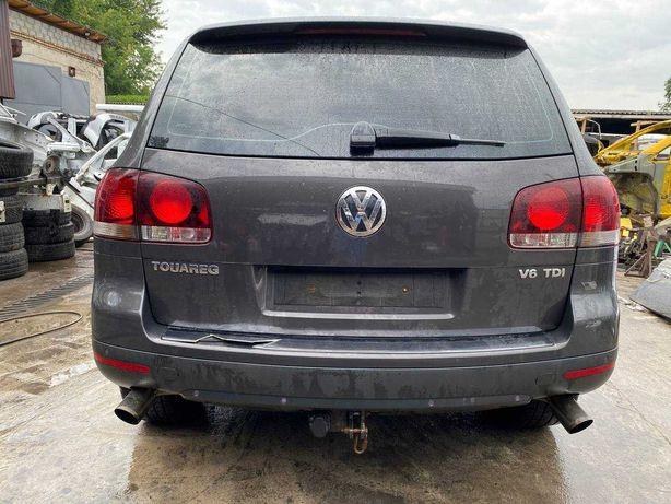 Бампер задний задній Губа Volkswagen Touareg 2003-2009