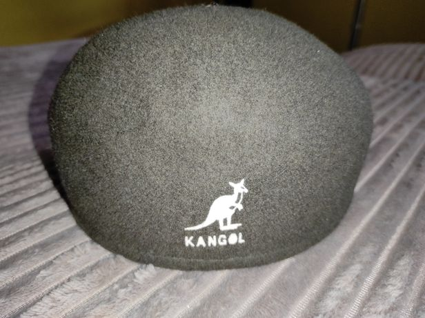 Kaszkiet,czapka jeździecka,myśliwska,kangol s
