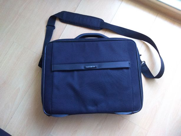 Elegancka torba na laptopa samosnite czarna
