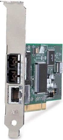 Сетевая карта Allied Telesis AT-2701FTX/SC Оптика 2 порта+ порт витой