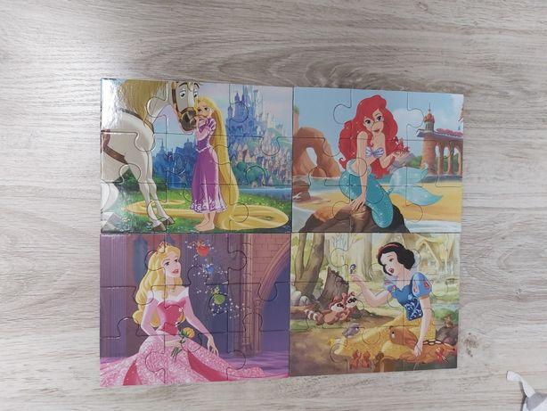 Puzzle zestaw 4 obrazki