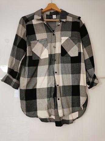 Koszula w kratę, H&M w rozmiarze S