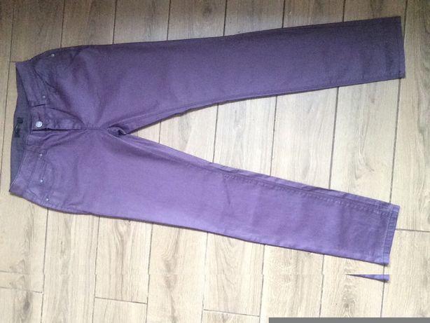 Стильные джинсы - штаны ( фиолетовые )