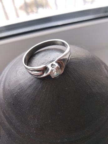 Перстень, срібло.