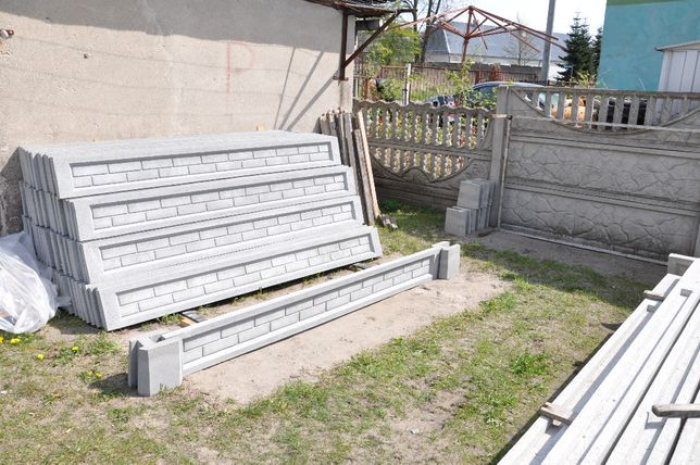 podmurówka, łączniki do ogrodzenia panelowego