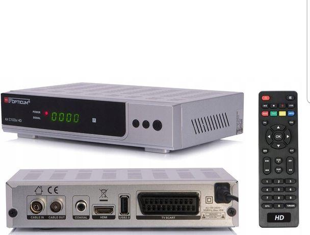 Dekoder Opticum DVB-C do telewizji kablowej