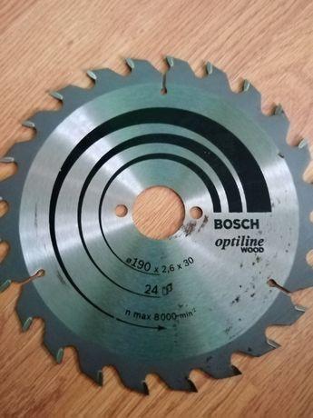 Пильний диск bosch optiline wood 190 *2.6* 30 24