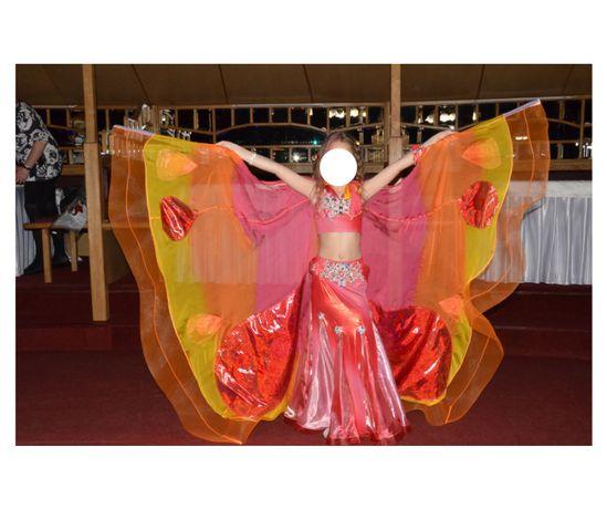 Костюм для танців метелик (східні танці, восточные танцы: бабочка)