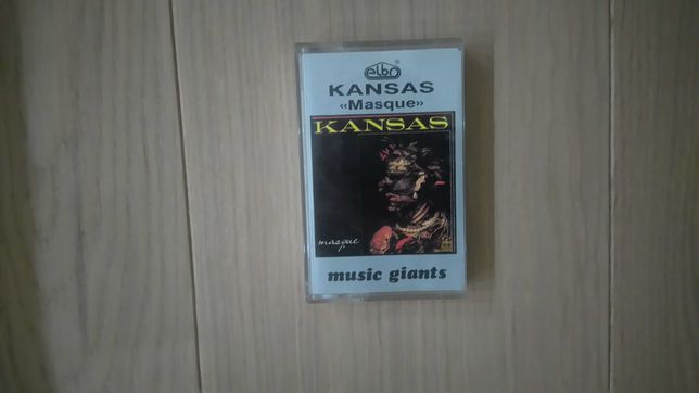 Kansas oryginalna kaseta magnetofonowa