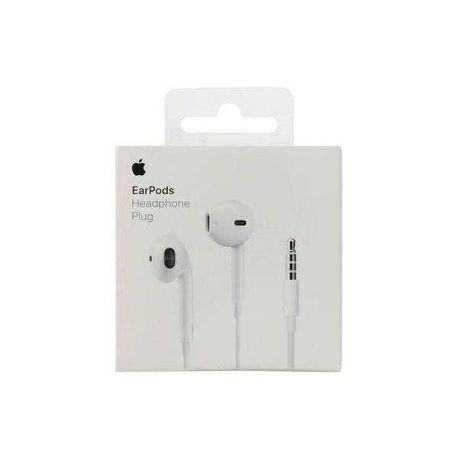 Słuchawki APPLE EarPods z pilotem i mikrofonem MiniJack (3.5 mm)