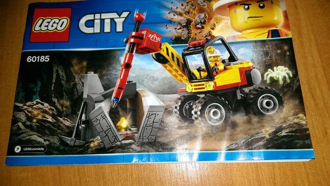 GOTOWE Lego CITY 60185 kruszarka górnicza odbiór osobisty