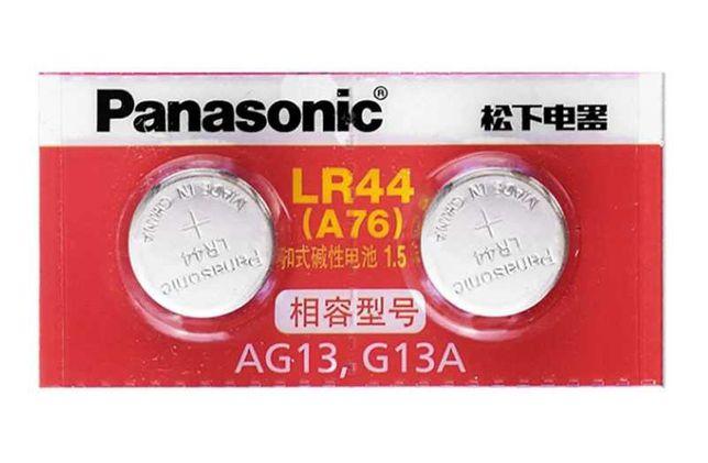 Pilhas LR 44 1.5V - 2 Pilhas