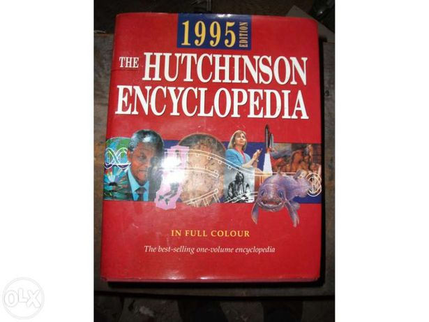 Enciclopédia The Hutchinson Encyclopedia 1995