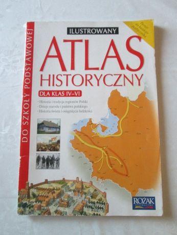 ilustrowany atlas historyczny dla klas 4-6