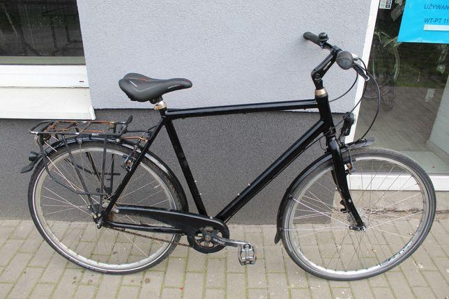 "Rower miejski Czarny No Name, 60 cm,28"",Shimano NEXUS 7, Alu"