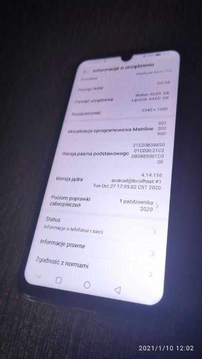 Huawei p smart 2019 - 3/64 - świetny telefon za dobre pieniądze Nowy Tomyśl - image 1