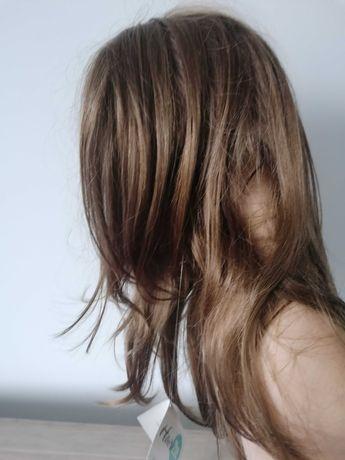 Peruka włosy półdługie