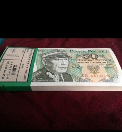 Banknoty 50zl PRL