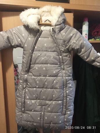 Зимний комбинезон и куртка конверт