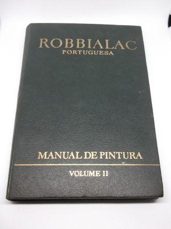 Livro Robbialac Portuguesa, manual de pintura 1965