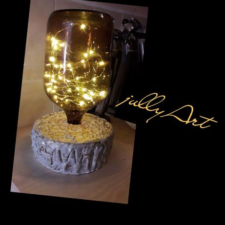 Luminária artesanalmente