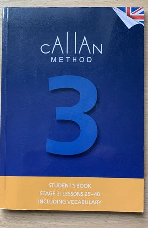 Callan students book. Stage 3: lesson 25-40