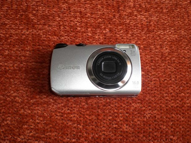 Цифровой фотоаппарат Canon Powershot A3300 + аккумулятор