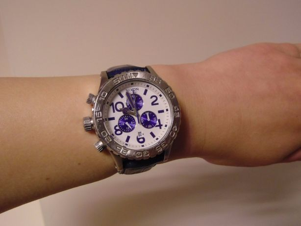 Zegarek damski Nixon 42-20 Chrono