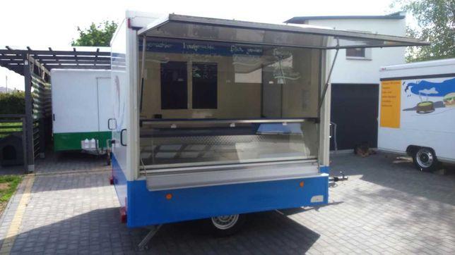 Przyczepa Gastronomiczna Food truck Autosklep wędliny - ryby * 2001r *