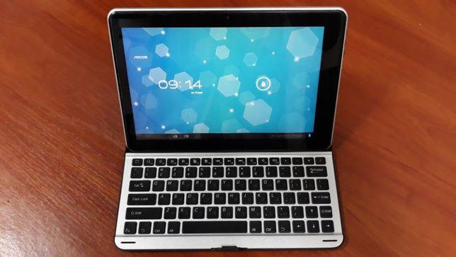 """10"""" планшет-трансформер AOCOS PX-102 + клавиатура. Алюминиевый корпус!"""
