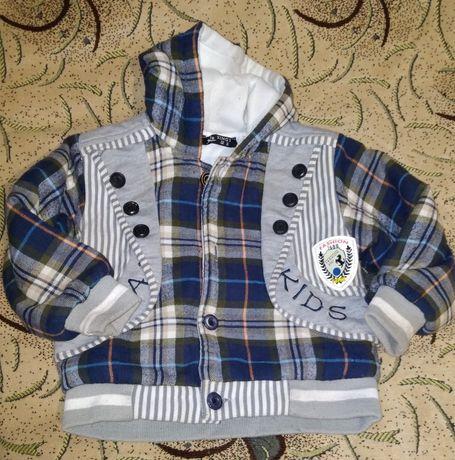 Куртка -бомпер весенняя 86-92
