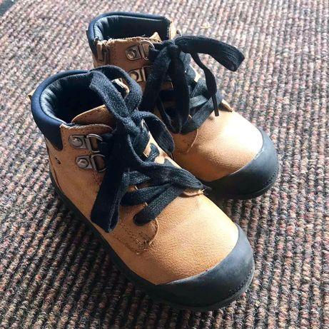 Ботинки кожані
