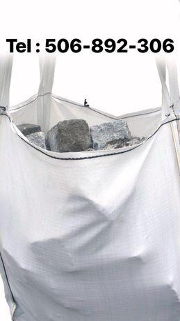 BIG BAG BAGI BAGS BEGI opakowania na ŻWIR kostkę kamień 1100 kg