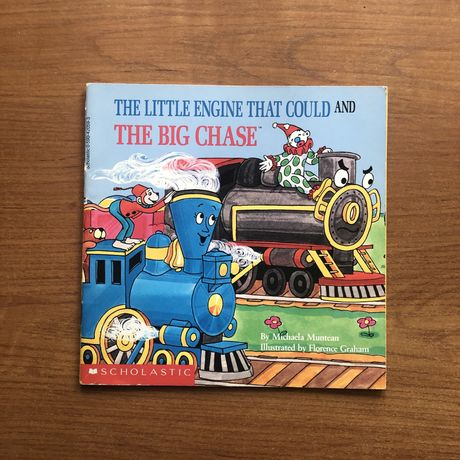 Дитяча книга англійською The Little Engine That Could and Big Chase