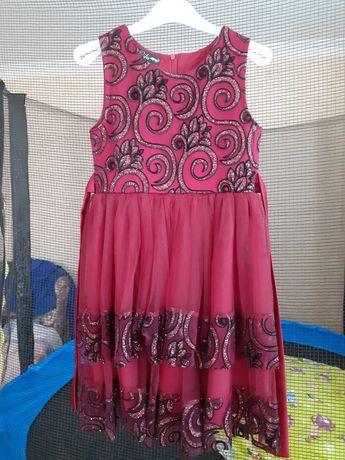 Продам нарядное платье на рост 128см