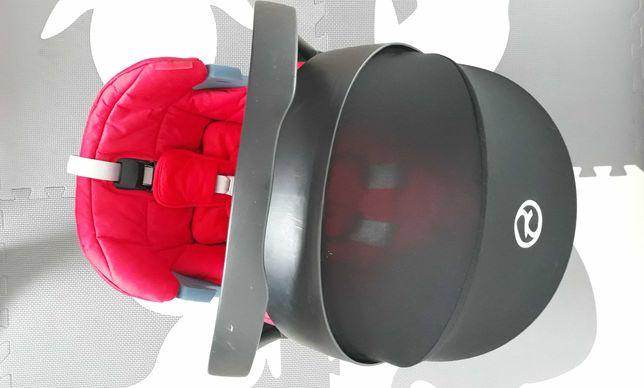 Nosidło/fotelik Cybex Aton 5 czerwone