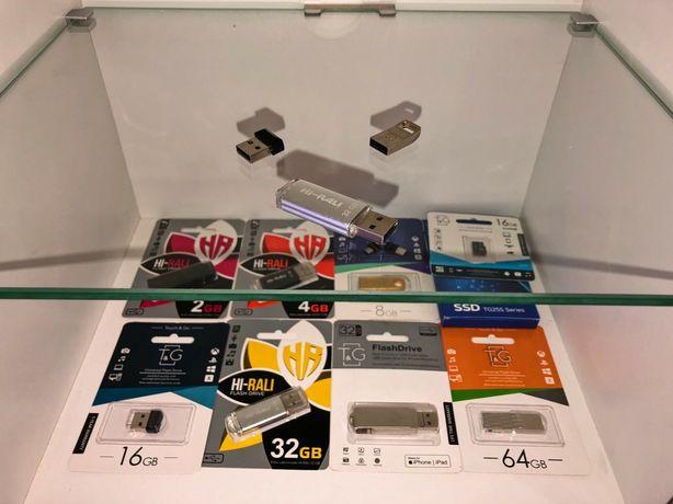 Флешки на 2 4 8 16 32 64 128 гб usb карта памяти Microsd Гарантия