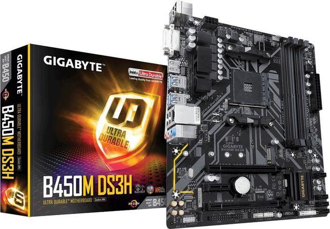 Nowa płyta główna Gigabyte B450M DS3H