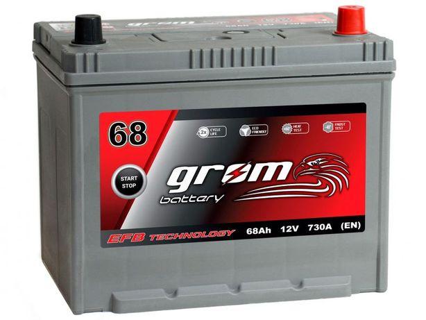 Akumulator Grom Efb Start&stop 68Ah/730A J P+