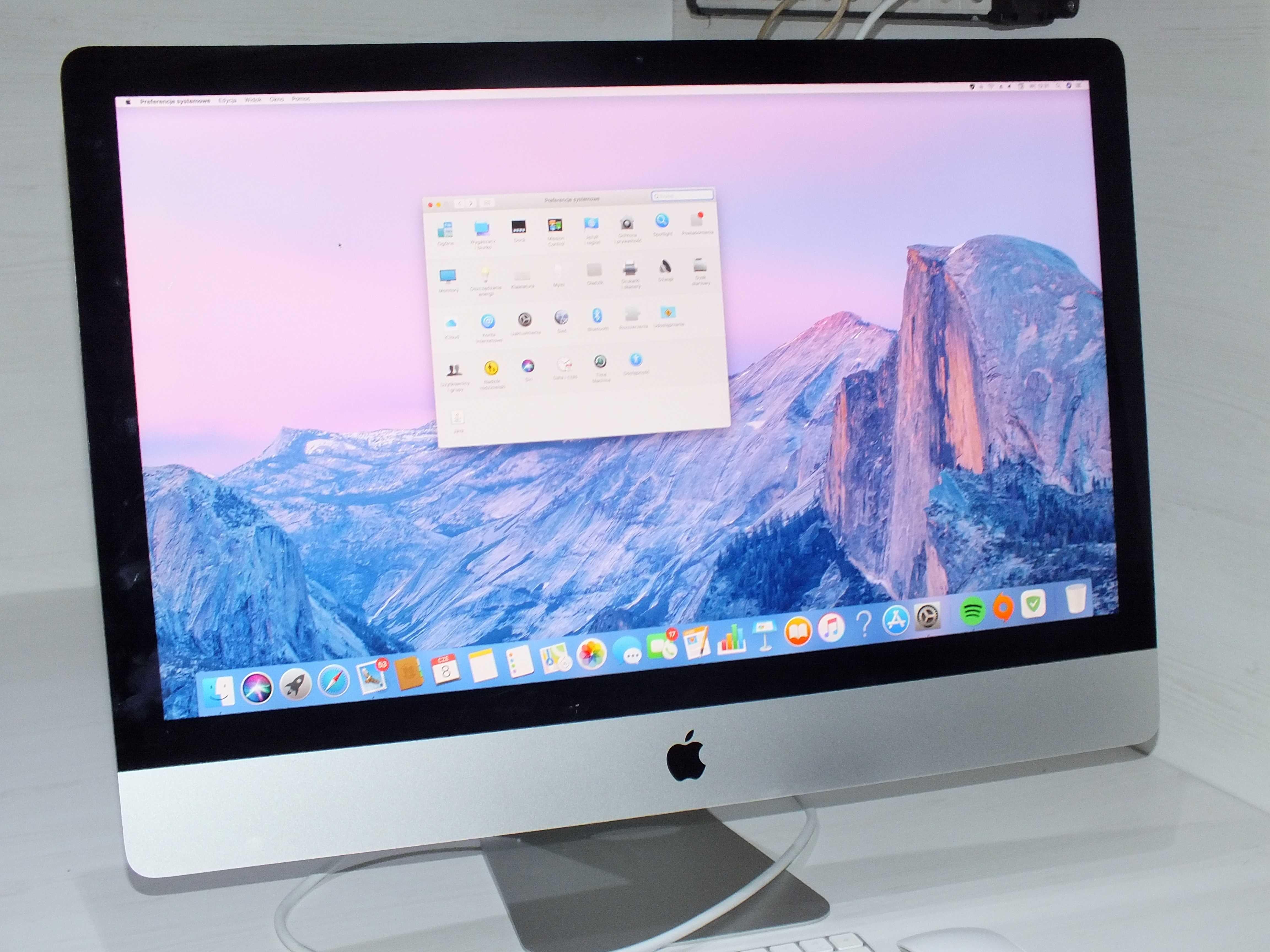 "**Komputer iMac 27"" Retina 5K 2017-Lombard Stówka**"