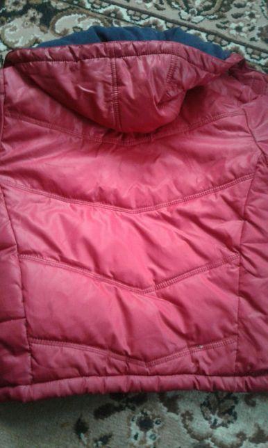 Теплые зимние курточка комбинезон