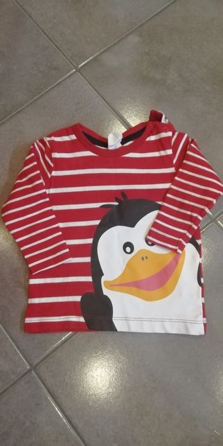Koszulka dziecięca h&m rozmiar 68