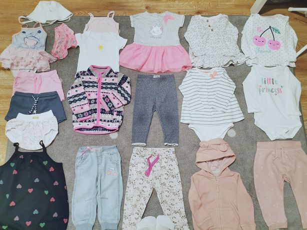 Ubranka dla dziewczynki rozm. 80/86