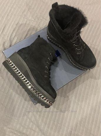 Ботинки цепь, зимние ботинки, ботинки не balmain не zara